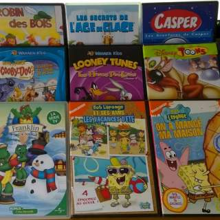 DVD DESSINS ANIMES