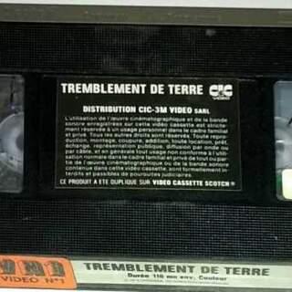 TREMBLEMENT DE TERRE