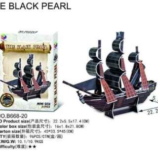 MAQUETTE THE BLACK PEARL