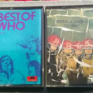 CASSETTES AUDIO THE WHO