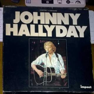 COFFRET JOHNNY HALLYDAY